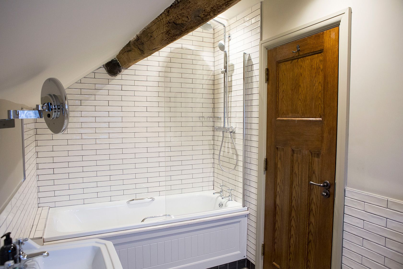 Newly-refurbished ensuites come as standard with all premium rooms at the Legh Arms