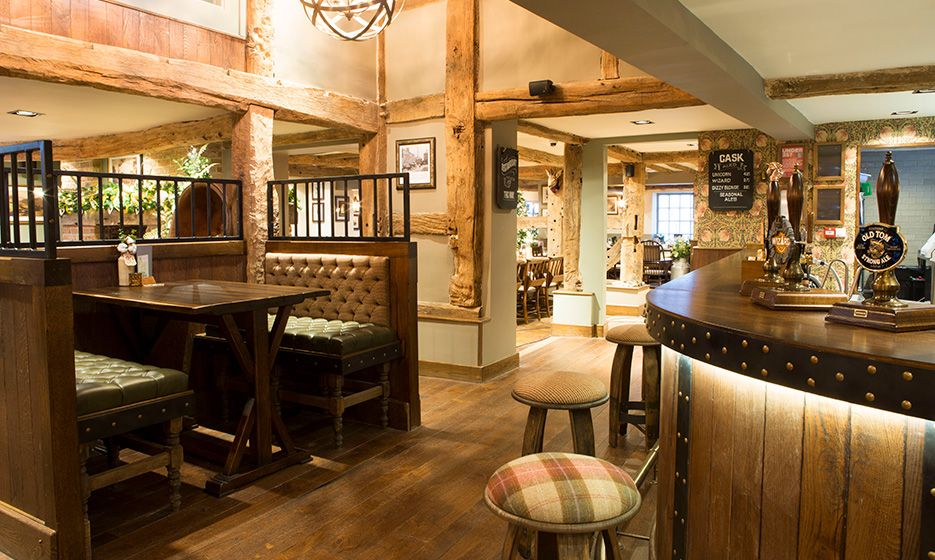 Internal shot of one of the best pub and restaurants near Macclesfield and Alderley Edge