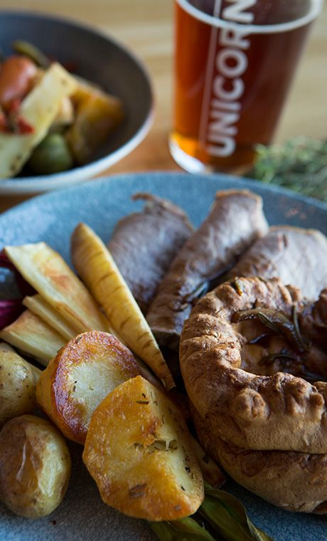 A legendary Sunday Roast from our Cheshire pub's Sunday lunch menu